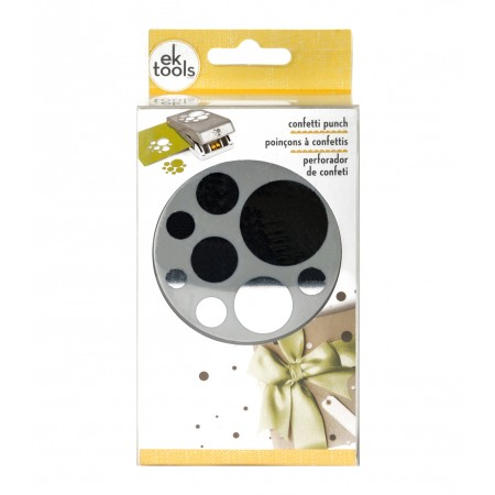 EK Tools Large Punch-Confetti Dots