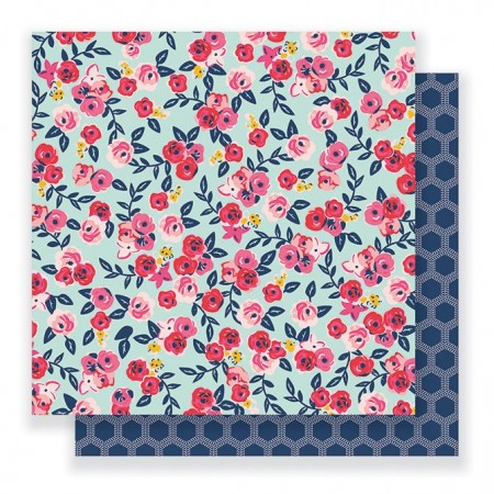 """AC Everyday Double-Sided Cardstock 12""""x12"""" - Floral Skies"""