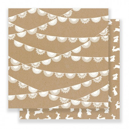 """AC Spring Fling Double-Sided Cardstock 12""""x12"""" - Doily"""