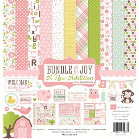 EP Bundle of Joy Girl A New Addition Collection Kit