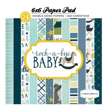 EP Rock-a-Bye Baby Boy 6x6 Paper Pad