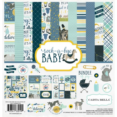EP Rock-a-Bye Baby Boy Collection Kit