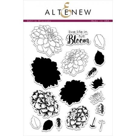 ATN Dahlia Blossoms Stamp Set