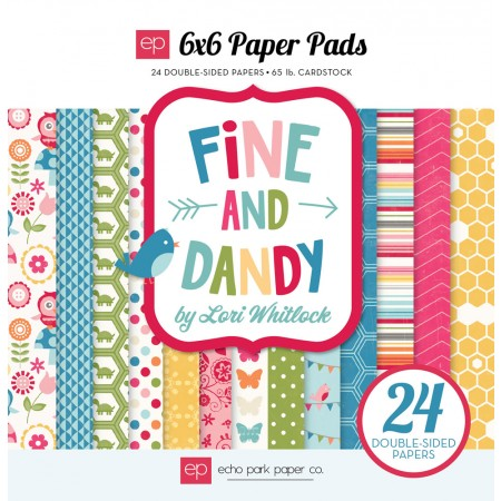 EP Fine & Dandy 6x6 Paper Pad