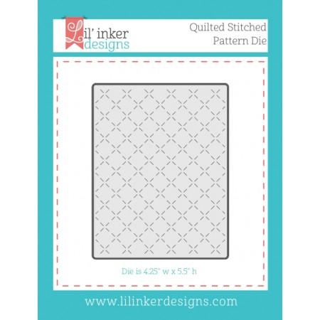 LI Quilted Stitched Pattern Die