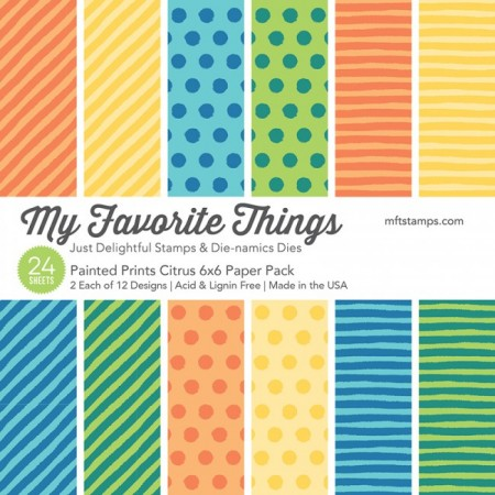 MFT Painted Prints Citrus Paper Pack