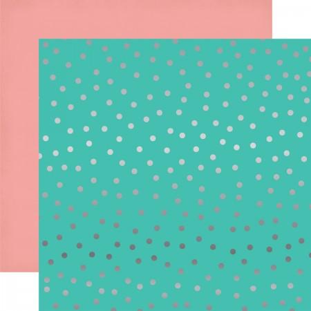 EP Random Dot Foil Paper 12x12