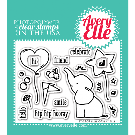 AE Ellie Clear Stamps