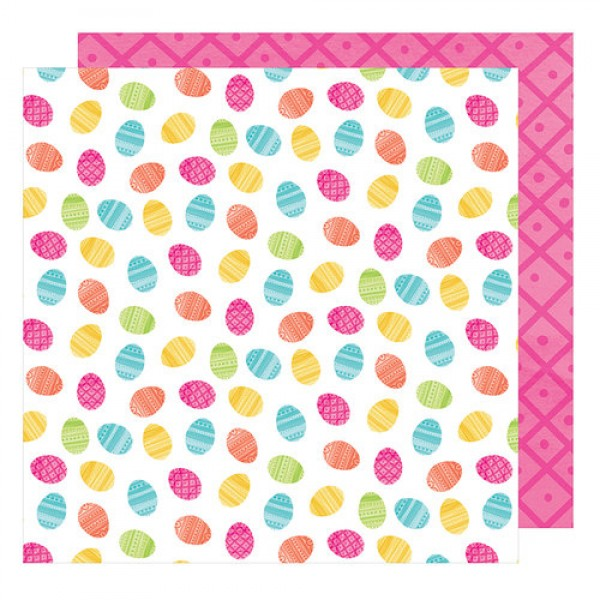 AC Hello Spring Collection Chummy Bunny 12 x 12 Double Sided Paper