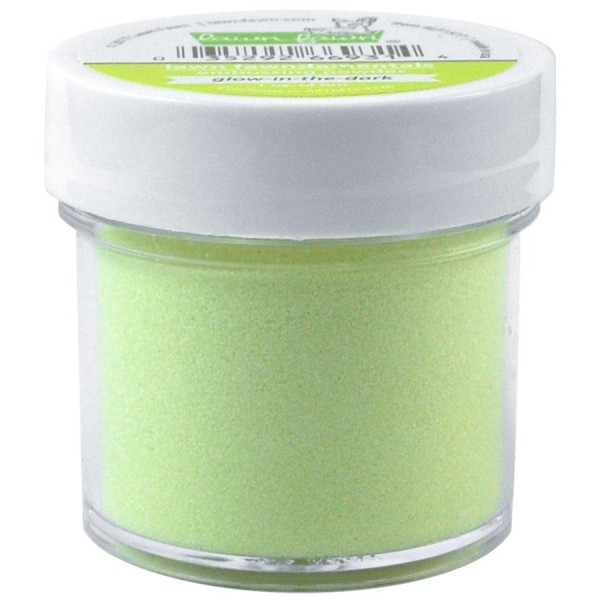 LF glow-in-the-dark embossing powder