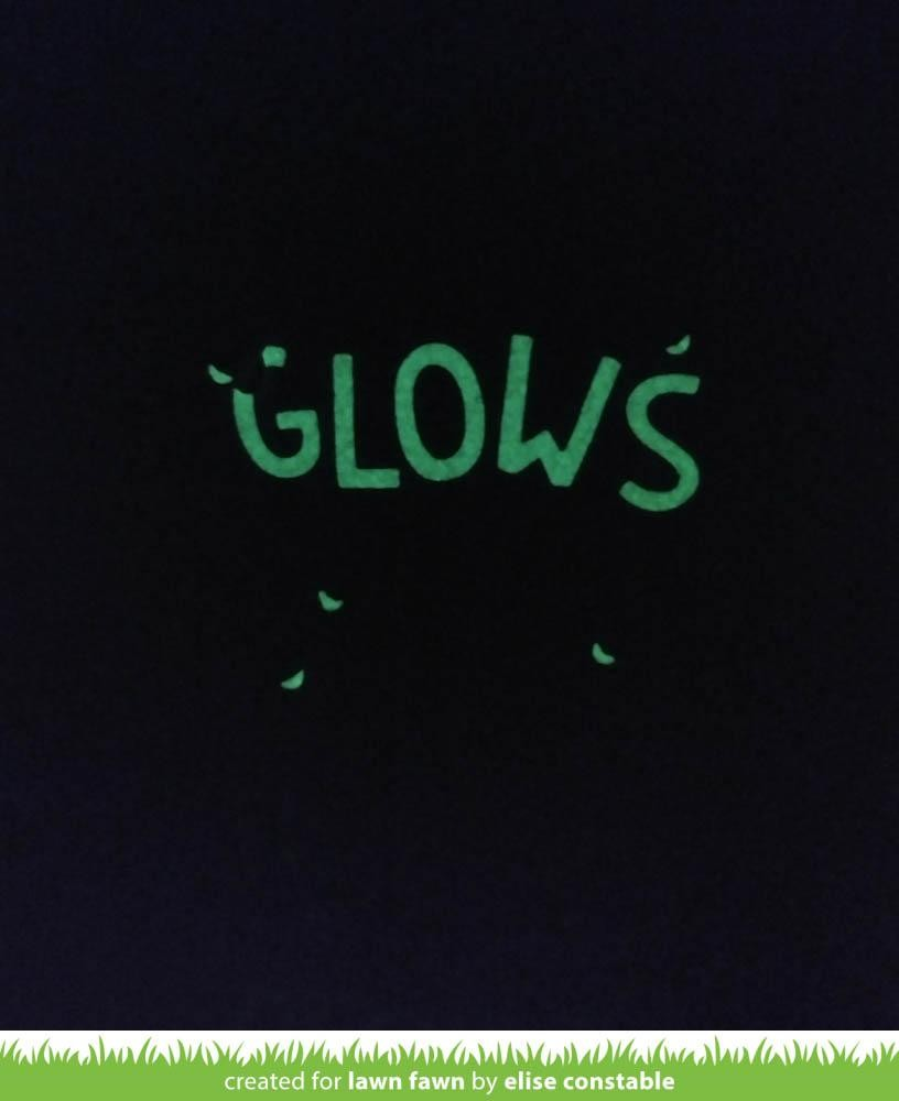 2-Pack Lawn Fawn Embossing Powder LF1577 Glow-in-The-Dark